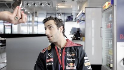 Red Bull Photoshoot Daniel Ricciardo