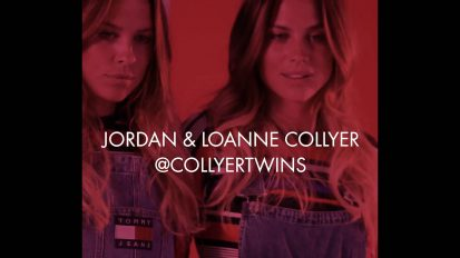 Collyer twins for Tommy Hilfiger